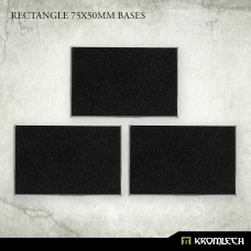 Rectangle 75x50mm Bases