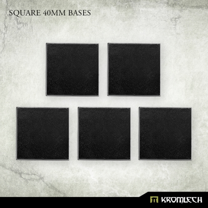 Square 40mm Bases