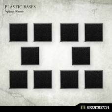 Square 20mm Bases