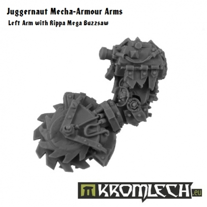Juggernaut Arms - Left Mega Buzzsaw