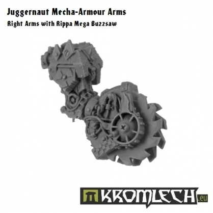 Juggernaut Arms - Right Mega Buzzsaw