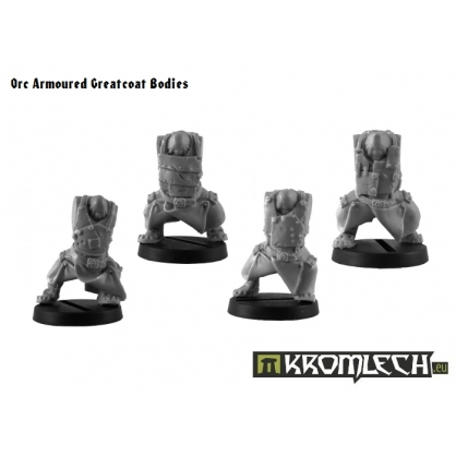 Orc Armoured Greatcoat Bodies